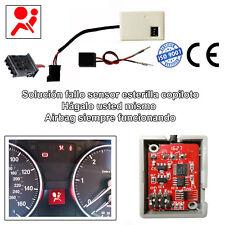 Solución airbag fallo de sensor de presencia de asiento para Bmw E90 E91 Serie 3