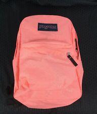 JanSport JS00T501 Superbreak Peach Backpack School Polyester Book Bag Student