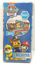Paw Patrol Boys Reversible Pillow Case Standard Size Microfiber Super Soft NEW
