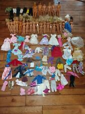 Vintage 21 Barbie 6 Ken Lot huge Clothes Hasbro, males Mattel, females Rare
