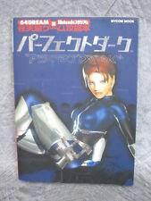 PERFECT DARK Guide Book Japan Nintendo 64 MC39*