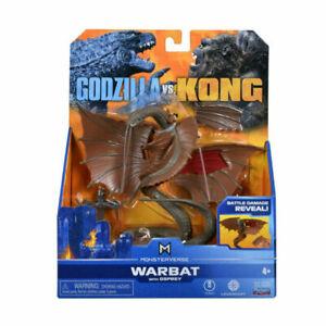 MonsterVerse Godzilla Vs. Kong 6-Inch Figure - Warbat with Osprey BRAND NEW