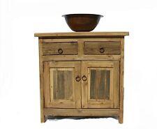 """Rustic Reclaimed Wood  Bathroom Vanity 30"""" wide"""