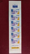 Carnet de timbres Journée du timbre 1991 Le tri postal neuf non plié