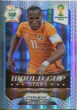Panini Prizm WC 2014 World Cup Stars Refractor Parallel #11 Didier Drogba