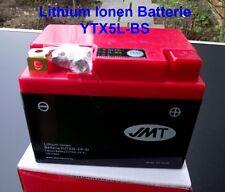 Batterie Lithium-ion YTX5L-BS, NSR 125,NSR125,JC22 extrêmement léger, hjtx5l-fp