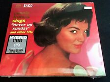 Connie Francis Sings Never On Sunday Hybrid SACD CD NEW Germany Limit Number
