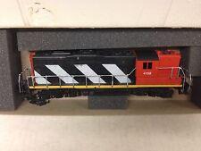 Athearn HO Scale Train Canadian National Zebra GP-9 Powered Engine #3163