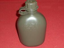 U S MILITARY SURPLUS 1 QT WATER CANTEEN NEW GREEN MADE IN USA BACKPACK SURVIVAL