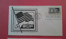 Kennedy Memorial Covers (2) 1964 ABC Boerger 1st Day and Artmaster 1st Day Sale