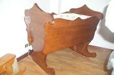 Bellissimo lettino CULLA di legno del nonno,leggi bene