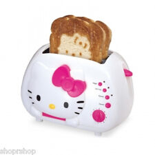 HELLO KITTY KT5211 2-Slice Wide Slot Toaster with Cool Touch Exterior NEW