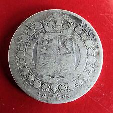 1892 QUEEN VICTORIA JUBILEE BUST SILVER HALF CROWN
