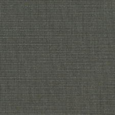 "Sunbrella Charcoal Tweed 4607-0000 Grey Gray 46"" wide Outdoor Fabric By The Yard"