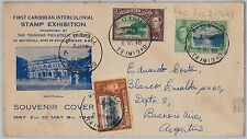 TRINIDAD & TOBAGO postal history -  SPECIAL COVER from WHITEHALL 1948