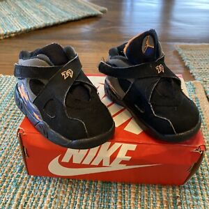 Nike Air Jordan VIII 8 Phoenix Suns 2013 Retro BT Toddler 305360-043 sz 5c