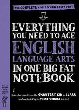 EVERYTHING YOU NEED TO ACE ENGLISH LANGUAGE ARTS IN ONE BIG FAT NOTEBOOK - HABER