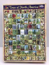 White Mountain Puzzles Trees Of North America 1000 pc Puzzle