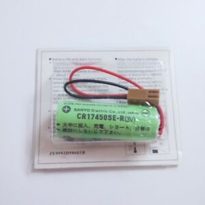 1 BATTERIA cod GE FANUC: A02B-0200-K102 Sanyo CR17450SE-R 3V 2000mAh X CNC PLC