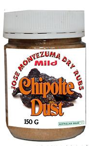 Chipolte  Dust 150g Dry Rub chipotle chilli ghost Habanero MILD