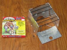 Sterno Folding Stove for camping, hiking - vintage never used