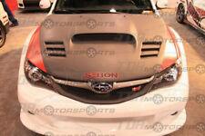 SEIBON 08-14 WRX/STi Carbon Fiber Hood CWII G3