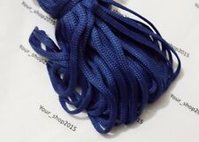 5 Metres Nylon Braided Cord Thread Twine 6mm MANY COLOURS Detachable cap ends