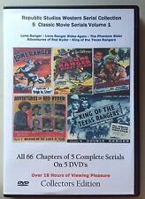 Republic Pictures Western Serial Cliffhanger Movies Collection Vol-1 - 5 DVD