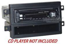 Scosche FD1424B Single DIN Installation Dash Kit for 2006+ Ford/Lincoln/Mercury