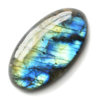 Cts. 55.55 Natural Multi Fire  Labradorite Cabochon Oval Cab Loose Gemstone