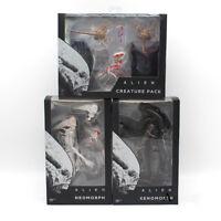 Alien Xenomorph Neomorph Creature Pack PVC Action Figure Collectible Model Toy