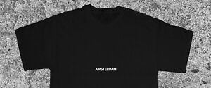 MENS AMSTERDAM T-SHIRT NETHERLANDS CITY TRAVEL TEE SIZE S-XXL STREETWEAR PARTY