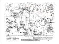 Preston East & West, West Ferring, Rustington E, old map Sussex 1913: 63SE repro