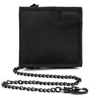 Pacsafe NEW Men's RFIDsafe Z100 Bifold Wallet - Black BNWT