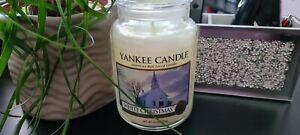 🦋Yankee Candle White Christmas Large Jar🦋