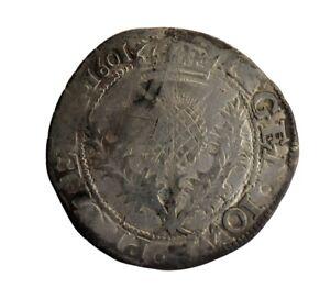 James VI Thistle Merk - Scottish Coin  (HHC5687)