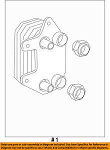 CHRYSLER OEM-Engine Oil Cooler 5290014AE