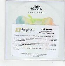 (FL809) Josh Record, Wide Awake - 2014 DJ CD