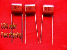 36 pc   -   .33uf  250v  (0.33uf, 330nf)  Panasonic radial poly film capacitors