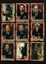 1991 TOPPS DESERT STORM SERIES 1 COMPLETE SET 88 CARDS BROWN DESERT STORM SHIELD