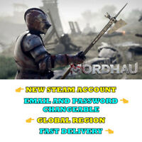 Mordhau - New Steam Account - Global Region - Fast Delivery