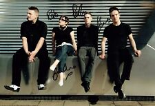 GLASVEGAS Signed 12x8 Photo AFTAL Autograph COA Scotish Indie Rock Band