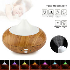 LED Ultraschall Luftbefeuchter Aroma Diffuser Aromatherapie Duftlampe 7 Farbe DE