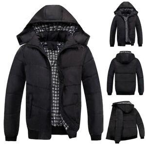 Herren Herbst Winter Jacke Mantel Kapuzenjacke Wasserdicht Windbreaker Outwear *