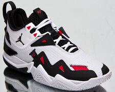 Jordan Westbrook One Take Men's White Black Red Low Basketball Sneakers Shoes
