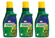 ORTHO KILLEX Lawn Weed Killer Concentrate, 1L - FRESH 2019 INVENTORY - 3 Pack