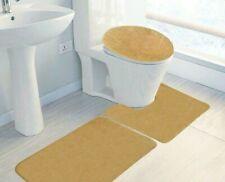 Charter Club Bath, Classic Lid Cover - Beige - Stain Resistant 100% Nylon
