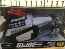 GI JOE ARCTIC HISS TANK w/ Driver 100% 2008 COBRA ENEMY 25th Anniversary Read