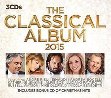 CD de musique classiques, sur album