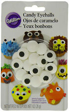 WILTON EDIBLE CANDY EYEBALLS EYE CAKE TOPPERS CUPCAKE DECORATING BAKING FUN